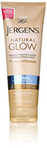 Jergens Natural Glow- Drugstore self-tanner for gradual tans