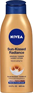 NIVEA Sun-Kissed Radiance- Drugstore self-tanner for face and body
