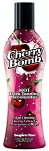 Supre Cherry Bomb Red Hot Dark Accelerator Tanning Lotion